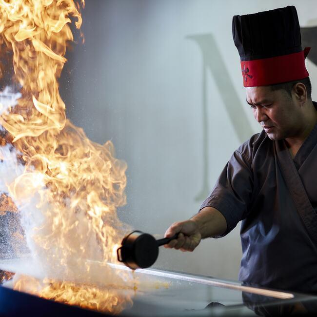 Show Cooking Mizu Restaurant