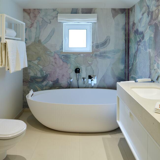 Spa suites bathroom suite.