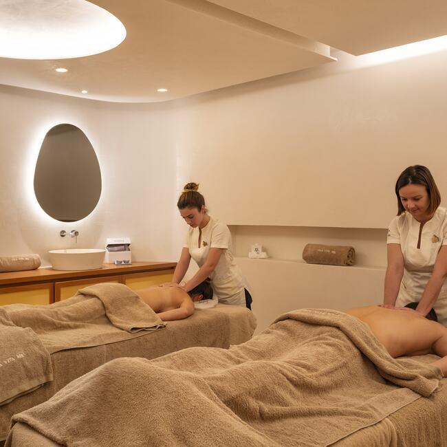 Massage services provided by Vila Vita Spa