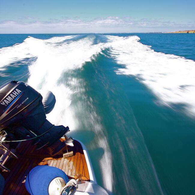 Vila Vita Yacht speed racing.