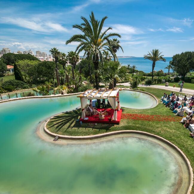Wedding services provided by Vila Vita Parc
