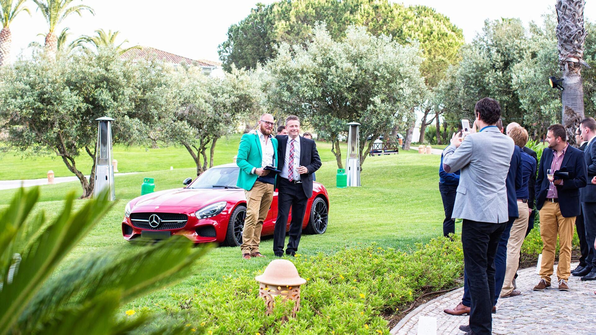 Incentives car venue organized by Vila Vita Parc