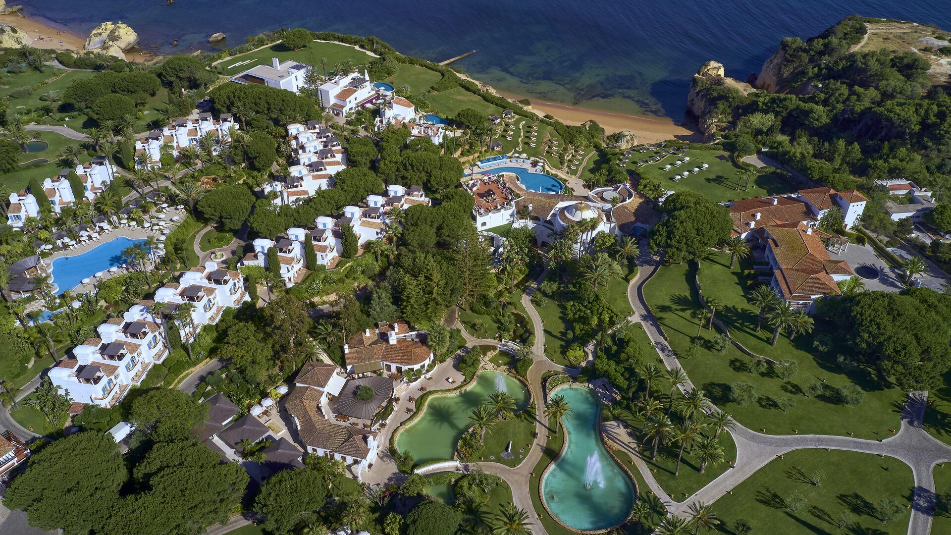 Aerial view from Vila Vita Parc