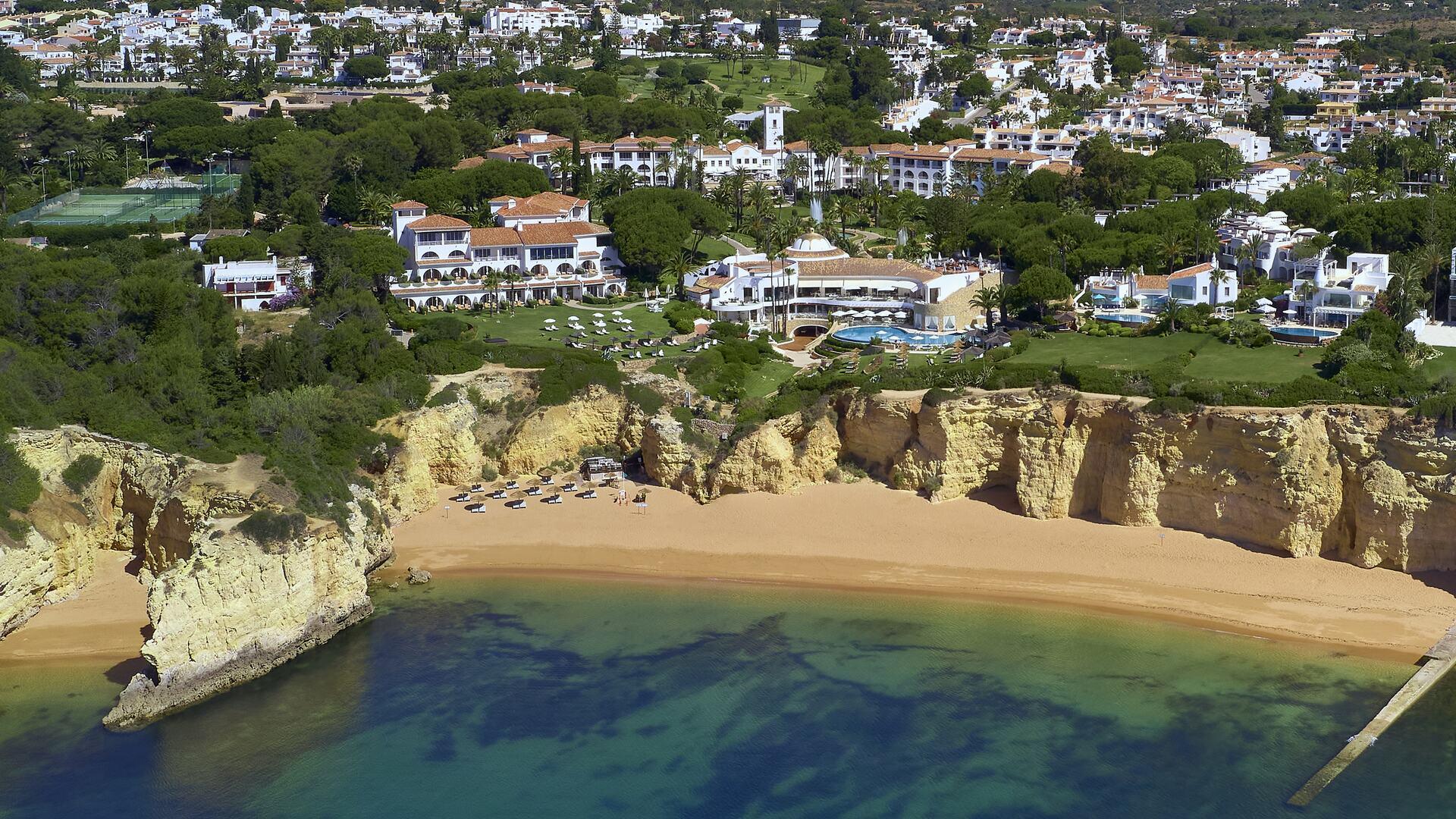 Vila Vita Parc aerial view.