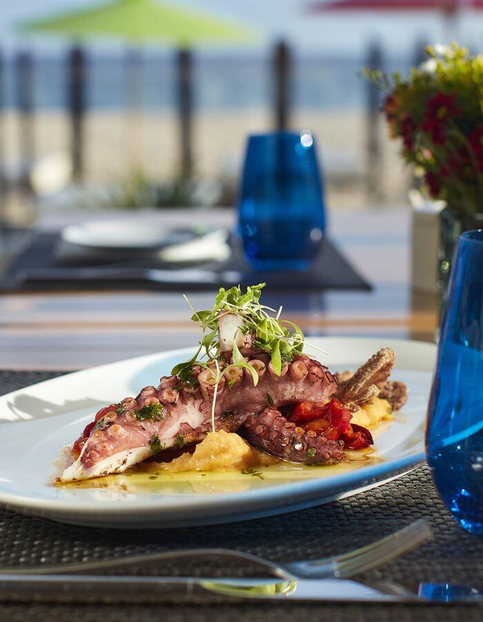 Octopus Dish at Praia Dourada