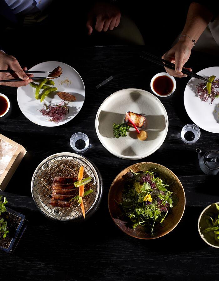 Mizu Restaurant Dishes
