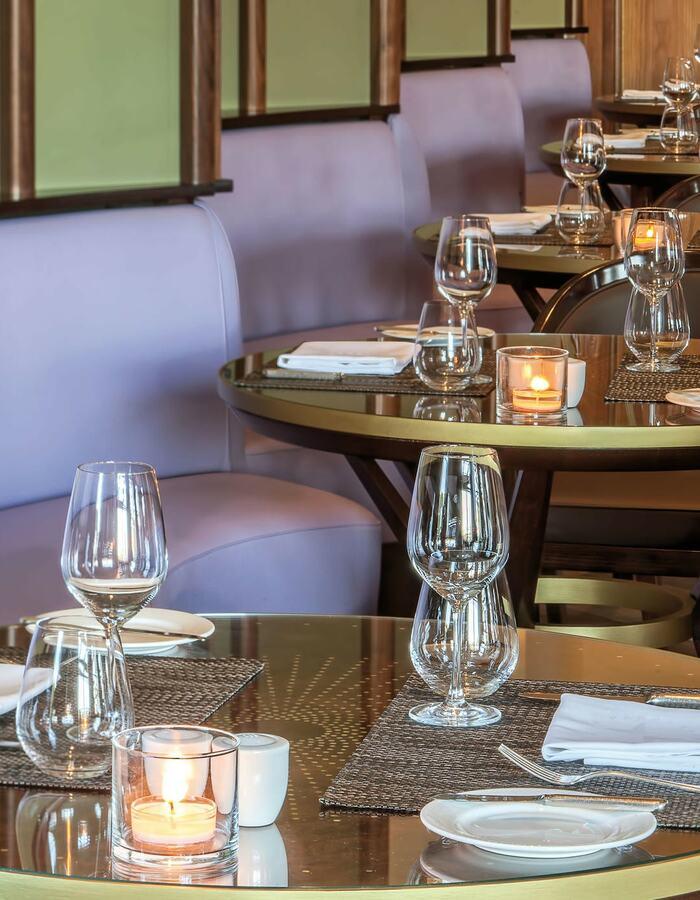 Bela Vita Bar and Brasserie table corner
